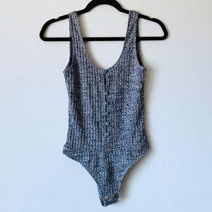 Privacy Please • Gyle Knit Brazilian Bodysuit XS